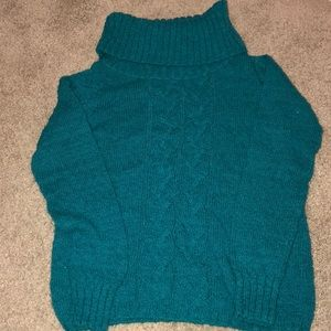 Tommy Bahama cable knit sweater